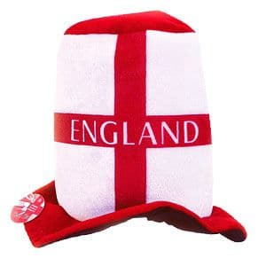Hat: England Flag Top Hat (each)