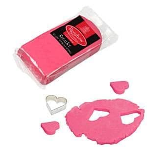 Icing: Renshaw Fuchsia Pink Ready to Roll Icing (250g)