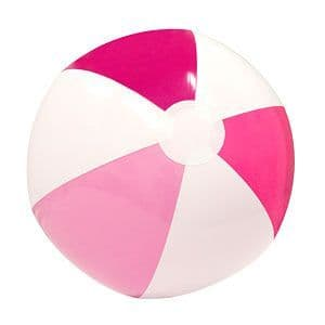Inflatable: 33cm Pink Inflatable Beach Ball