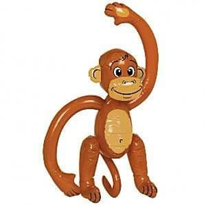 Inflatable: 50cm inflatable Cheeky monkey