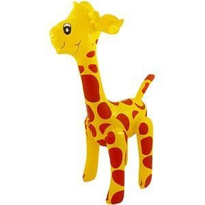 Inflatable: 59cm Inflatable Giraffe (each)