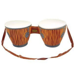 Inflatable:  Bongo Drums Inflatable - 62cm