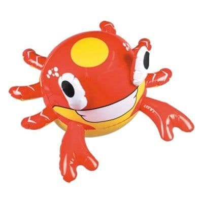 Inflatable: Crab Inflatable Beach Ball - 22cm (each)