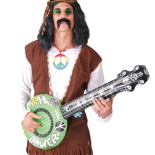 Inflatable: Hippie Power Inflatable Banjo