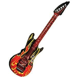 Inflatable: Inflatable Flame Guitar - 106cm (each)