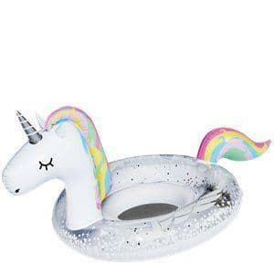 Inflatable: Lil' Unicorn Sparkles Pool Float - Holds Up To 20kg