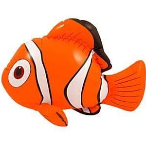 Inflatable: Nemo Inflatable Clown Fish - 43cm