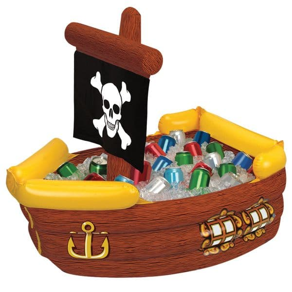 Inflatable: Pirate Ship Inflatable Cooler - 104cm