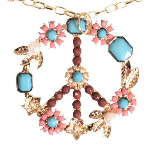 Jewellery: Hippie Floral Necklace