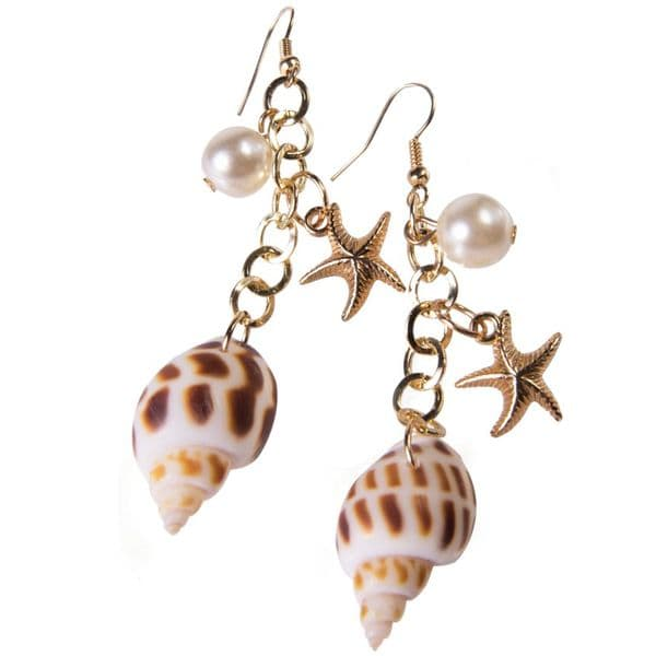Jewellery: Mermaid Shell Earrings