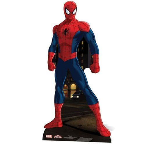 Life Size Cutouts: Spider-Man Cardboard Cutout - 1.73m