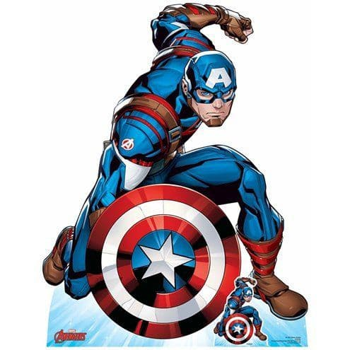 LifeSize Cutout: Captain America First Avenger Cardboard Cutout