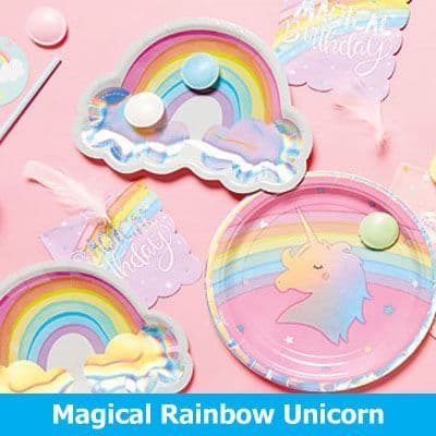 Magical Rainbow Unicorns Party Supplies‎