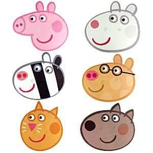 Masks: Peppa Pig Mask Pack (6pk)