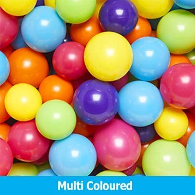 Multi Coloured Balloons