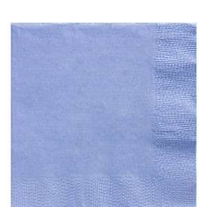 Napkins: Baby Blue 2ply Paper Luncheon Napkins  (50pk)