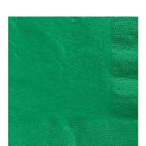 Napkins: Green Luncheon Paper Napkins 2ply x50pk