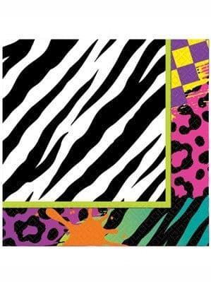 Napkins: Totally 80s Luncheon Napkins 16pk