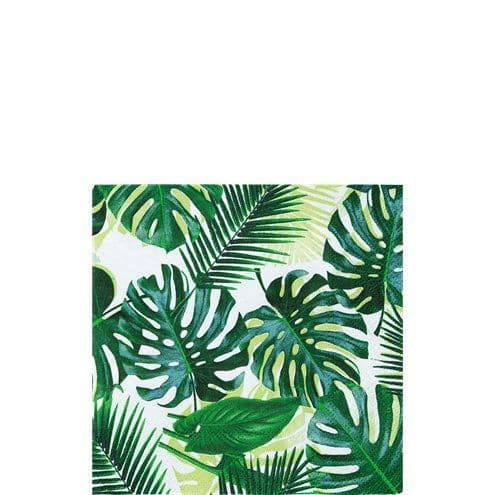 Napkins: Tropical Fiesta Palm Cocktail Napkins x20pk