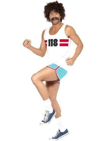 Novelty: 118118 Man - Adult Costume (Size: 38-40