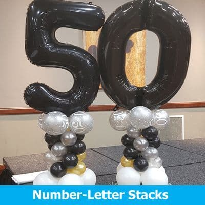 Number & Letter Stacks Inflated