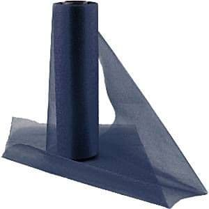Organza Drapes: Organza Sheer Roll Navy Blue - 25m