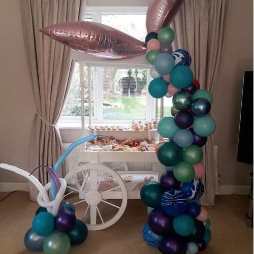 Package: Grazer Cart with balloons