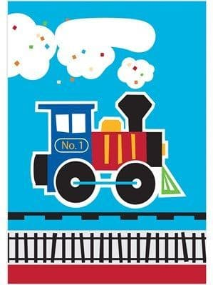 Party Bags: All Aboard Train Party Bags 8pk