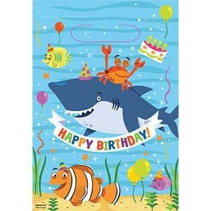 Party Bags: Ocean Buddies Party Bags - Loot Bags (8pk)