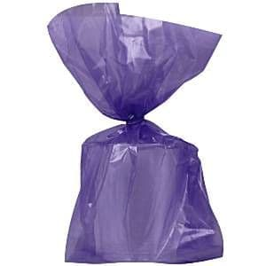 Party Bags: Party Bags New Purple Cello Bags (25pk)