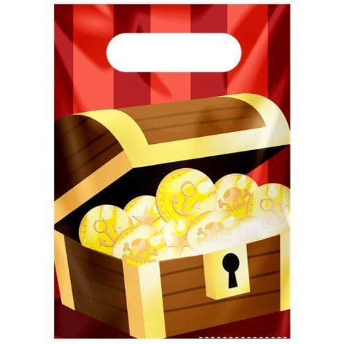 Party Bags: Powerful Pirates Party Bags x6pk