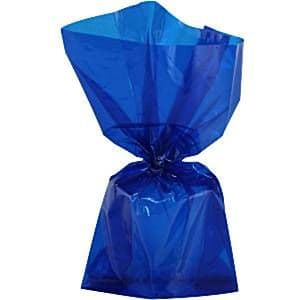 Party Bags: Royal Blue Cello Party Bags (25pk)
