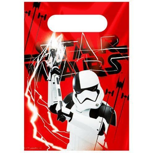 Party Bags: Star Wars The Last Jedi Party Bags x6pk