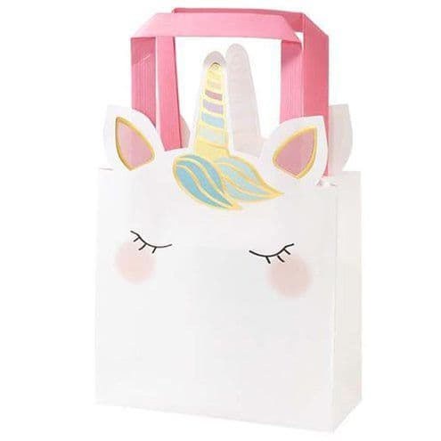 Party Bags: We Heart Unicorn Party Bags x6pk