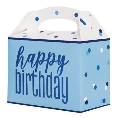 Party Box: Blue Birthday Glitz Party Box x6pk