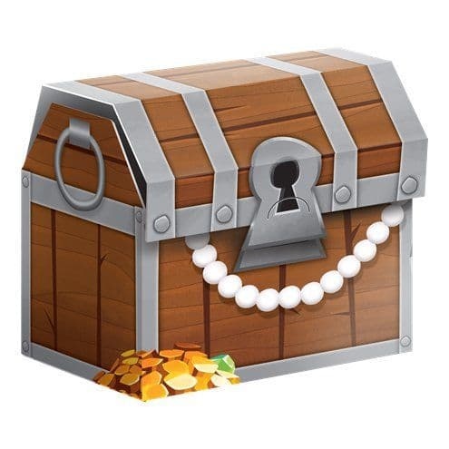 Party Box: Pirate Treasure Favour Boxes - 8.3cm Treasure Chests