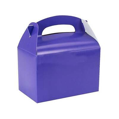 Party Box:  Purple party Boxes (each) (discount more you buy)
