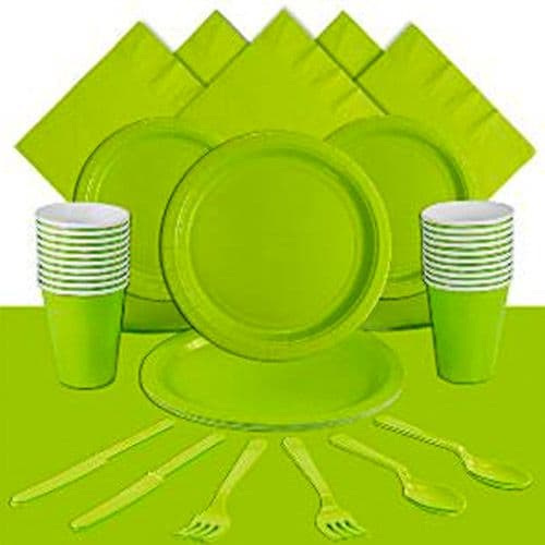 Party Pack: Lime Green party Pack for 20