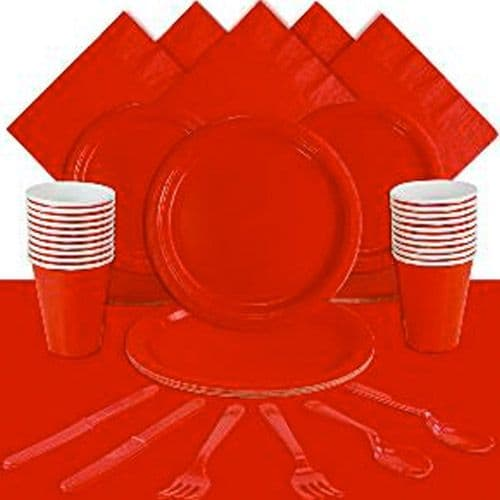 Party Pack: Red party Pack for 20