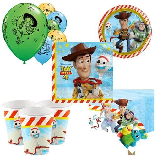 Party Packs: Toy Story Party Pack for 8, 16, 24 or 32 People (price shown for 8pk)