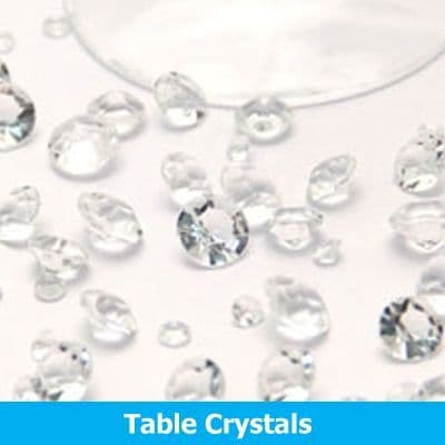 Party Table Crystals