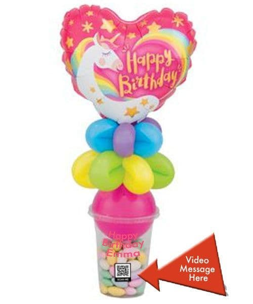 Personalised Sweet Pots - Video Message Optional