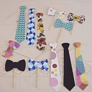 Photo Booth: A Vintage Affair - Photo Booth Tie Props Kit
