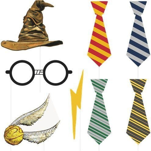 Photo Booth: Harry Potter Photo Booth Props x8pk