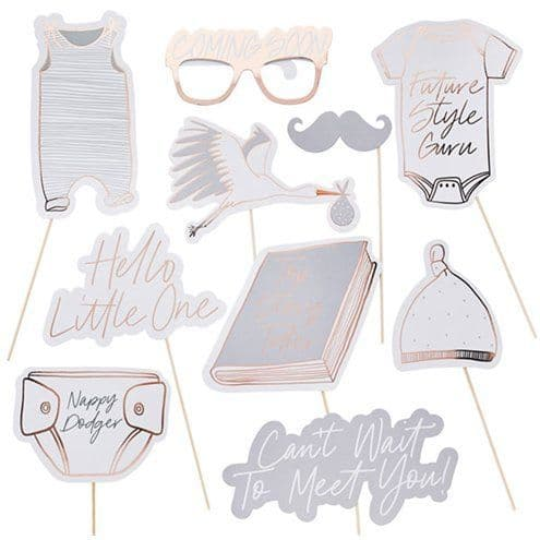 Photo Booth: Hello Little One Photo Props x10pk