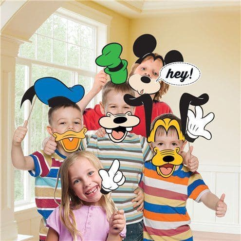 Photo Booth: Minnie Mouse Photo Booth Kit x12pk