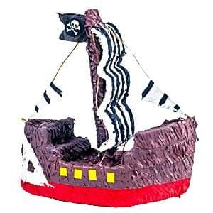 Pinata: Pirate Ship Piñata - 40cm tall
