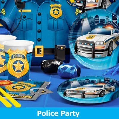 Police Party Supplies