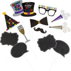 Props: New Year Photo Prop Kit x13props