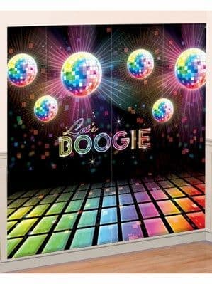 Scene Setter: 70s Disco Wall Decorating Kit